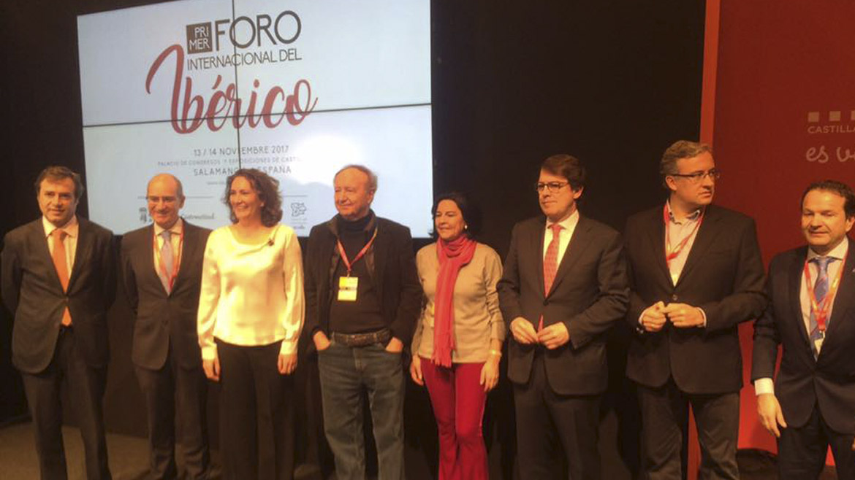Salamanca presenta el I Foro Internacional del Ibérico en Fitur