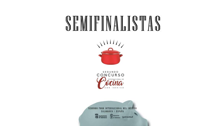 Semifinalistas II Concurso Internacional de Cocina con Ibérico